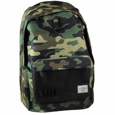 Nouvelle Collection 2014   Cayler and Sons - Downtown Backpack Woodland Camo/Black/Black