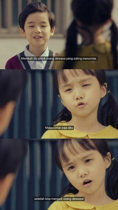 Quotes Drama Korea, Drama Quotes, Mood Quotes, Life Quotes, Submarine Quotes, Korean Quotes, Qoutes About Love, Movie Couples, Quotes Indonesia