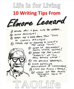 I love Elmore Leonard.