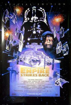 Star Wars Ep V Empire Strikes Back Special Edition Movie Poster 22x34