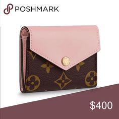 f18281c900ce Louis Vuitton Zoe Wallet in Rose Ballerine Gently used for 1 month. Selling  because I