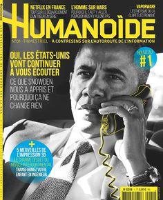 Humanoïde : à contresens sur l'autoroute de l'information Trimestriel Prix n° : 5€  Abo : 16.90€ Editeur : Presse Non-Stop