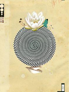 Valero Doval. #circle #circular #spherical #mandala #postmandala