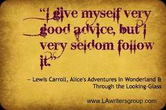 alice in wonderland quotes | Our Favorite Alice in Wonderland Quote - LAwritersgroup.com