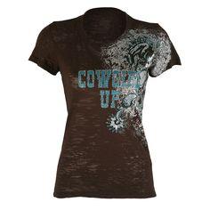 cowgirl up tee shirt
