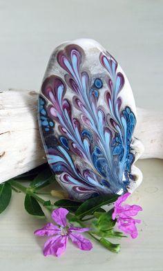 Handmade Lampwork Glass Focal Bead Firebugbeads by Firebugbeads, $14.00