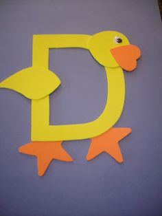 "Play and Learn with Dana: Letter ""D"" Duck"