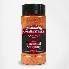 Omaha Steaks 1 (2.9 oz. jar) Blackene... for only $4.99