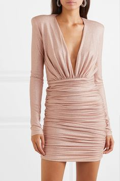 Find and compare Crystal-embellished ruched stretch-jersey mini dress across the world's largest fashion stores! Alexandre Vauthier, Jersey Mini, Casual Dresses, Short Dresses, Mini Robes, Wedding Party Dresses, Fashion 2020, Dress Me Up, Dress Collection
