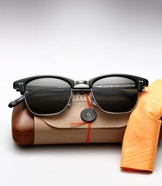 "Great Look: Garrett Leight ""Lincoln"" Sunglasses - Airows"