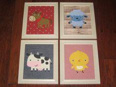 Western/Farm Animals Nursery Art  You pick the by TheNurseryNook, $56.00
