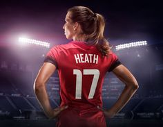 Tobin Heath || Six Star Pro Nutrition athlete