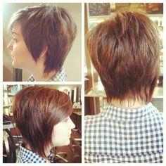 Edgy Asymmetrical Haircuts | Short asymmetrical edgy haircut