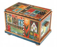 Sticks Furniture Chest with Drawer at RGrey Gallery, Boise, Idaho.  Beautiful hand-crafted wood.  Love the pieces there!!