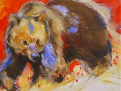 "Amy Poor- ""Indian Paintbrush Bear"