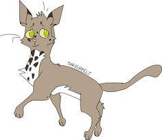 I honestly love Thrushpelt. I love him because he did so much for Bluefur and did the best he could not to hint anything of Bluefur and Oakheart. Loyal till the end!