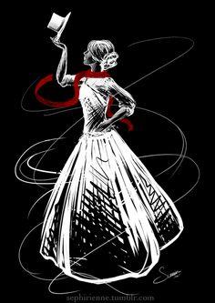 The Night Circus: Celia Bowen by Sephirienne.deviantart.com on @DeviantArt
