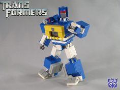 Transformers G1 Soundwave: A LEGO® creation by Devid VII : MOCpages.com