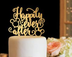 Image result for gold mickey cake topper