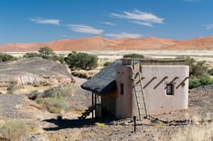 Travel to Kulala Desert Lodge in Sossusvlei to see the famous red dunes of Namibia. This Kulala wilderness lodge is perfect for an outdoor African adventure. Luxury Tree Houses, Sky Watch, Safari Holidays, Namib Desert, Light Pollution, Game Reserve, Photography Courses, African Safari, Stargazing