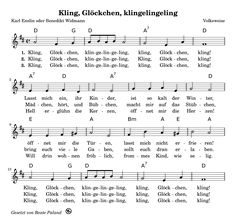 Kling, bell, klingelingeling - # bell - Drawing Still 2020 Christmas Information, Christmas Mix, Ukulele Songs, Kalimba, Christmas Gift Decorations, Kids Songs, Jingle Bells, No One Loves Me, First Love