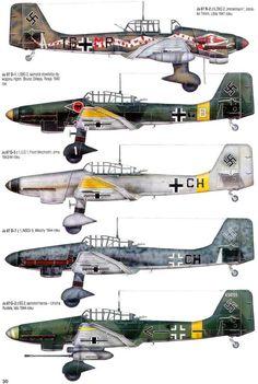 Resultado de imagen de perfiles ju-87