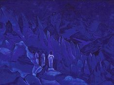 The Burning of Darkness   by Nicholas Roerich
