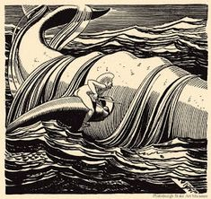 Illustration by Rockwell Kent for Herman Melville's Moby Dick. Published by Lakeside Press, 1930 Rockwell Kent, Norman Rockwell, Schmidt, Graphic Illustration, Graphic Art, Melville Moby Dick, Ad Art, Wood Engraving, Gravure