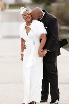 """BRIDAL BLISS: JOY AND TROY'S MARYLAND WEDDING PHOTOS CARETAKER """"He often does things for me that I didn't even know that I wanted or needed,""""... By Charli Penn"""