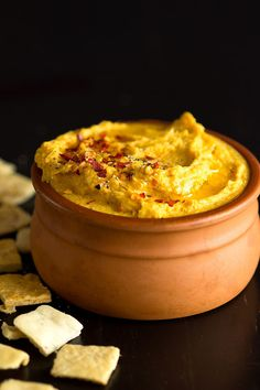 Turmeric Sweet Potato Hummus Appetizer Recipe...and other delicious, healthy anti inflammatory recipes for any meal!