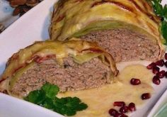 Best meatloaf «Golubets» in a creamy sauce # favorite recipes cooking food