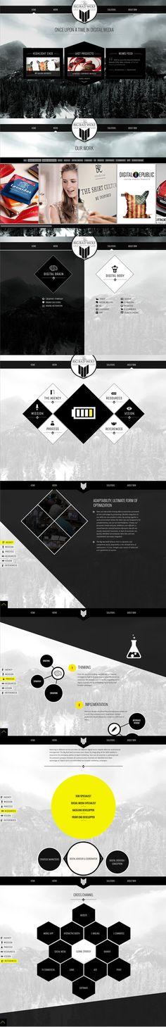 Winner 7 September 2013 Big Bad Wolf by Big Bad Wolf http://www.cssdesignawards.com/css-web-design-award-winner.php?id=22496 Big Bad Wolf - Digital Creative Agency: web, 3D, video, mobile, interactive. #Scroll
