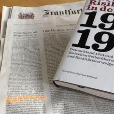 «Das Lesen lohnt sich, auch wenn man nicht allen Thesen zustimmen wird», schrieb gestern Michael Epkenhans in der Frankfurter Allgemeinen Zeitung über «Mit vollem Risiko in den Krieg».
