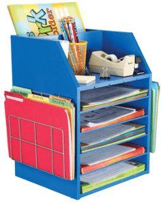 Really Good Teachers Desktop Organizer With Paper Holders Interesting Student Desk Organizer - Home Office Design