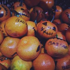 #halloween #mandarini #