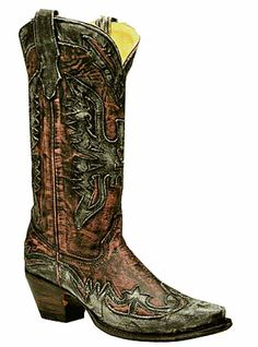 Western Cowboy Boots I Love by Corral Boots