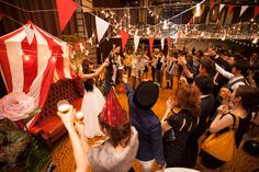 テーマウェディング事例:wonder circus wedding|crazy wedding (クレイジー・ウェディング)