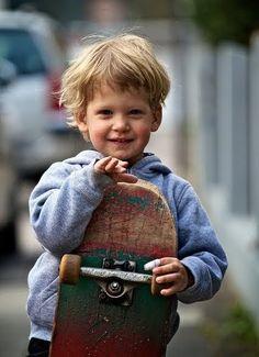 skater kids fun