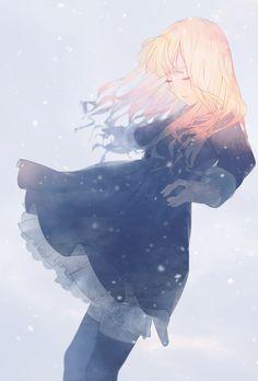 e-shuushuu kawaii and moe anime image board Manga Kawaii, Chica Anime Manga, Kawaii Anime Girl, Anime Art Girl, Anime Girls, Manga Girl Sad, Anime Girl Crying, Fille Blonde Anime, Art Anime Fille
