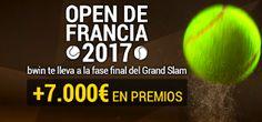 el forero jrvm y todos los bonos de deportes: bwin promocion Open de Francia 2017 10-23 abril