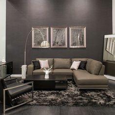 """Design Inspiration: in love with this monochromatic living room. Don't forget to put down """"Help Urself Leasing"""" when signing ur lease to get back 50% of the commission we earn from ur referral.  HelpUrselfLeasing.com  #design #inspiration #monochromatic #leasing #lease #rent #realestate #apartmentlocator #apartments #condos #dallas #uptown #downtown #westvillage #oaklawn #greenville #knoxhenderson #deepellum #smu #helpurself #sundayfunday #helpurselfleasing #helpurselflocator #cashback #cash…"""