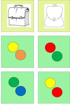boekentas kleur 5 Logic Puzzles, Back To School, Kids Rugs, Colors, Autism, Learn French, Preschool, Kid Friendly Rugs, Entering School