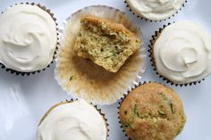 No Gluten, No Problem: Friday Foto: Zucchini Cupcakes