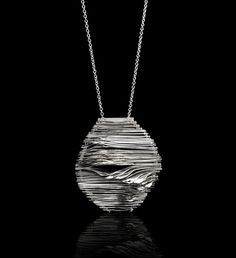 """""""Infinite"""", necklace, sterling silver $1400 oblikatelier"""