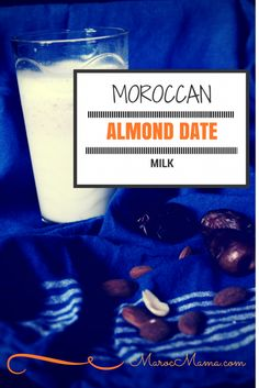 Moroccan almond date milk is a popular drink in patisseries but its roots stretch to marriage and fertility beliefs. Visit Marrakech, Popular Drinks, Dealing With Stress, Morocco Travel, Vegan Sweets, Mediterranean Recipes, Party Drinks, Almond Milk, Healthy Drinks