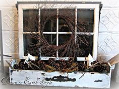 I have a window very similar to this one.  I think I'm going to try this idea soon!