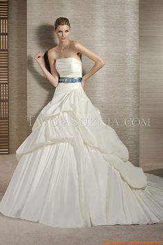 Luxuriöse Brautkleider für Prinzessin aus Satin 2014