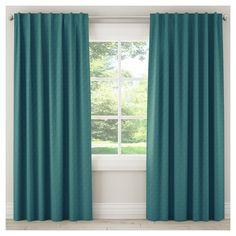 "Blackout Zuma Curtain Panel Teal (Blue) (50""x108"")"