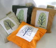 Linen Trees Upcycled Lavender Sachets - winter spring summer fall