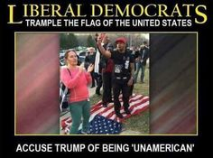 Un-American are those people that burn or stump on the American flag It also shows how Despicable, Ungrateful, Shameless, Contemptible, Loathsome, Hateful, Detestable, Reprehensible, Abhorrent, Abominable, Awful, Heinous, Odious, Vile, Low, Mean, Shameful, Ignominious, Shabby, Ignoble, Disreputable, Discreditable, Unworthy, Dirty, Rotten, Lowdown, Lousy, and Scurvy they are. it does not demostrate the president as been un-american, their actions demostrate what type of people they are.